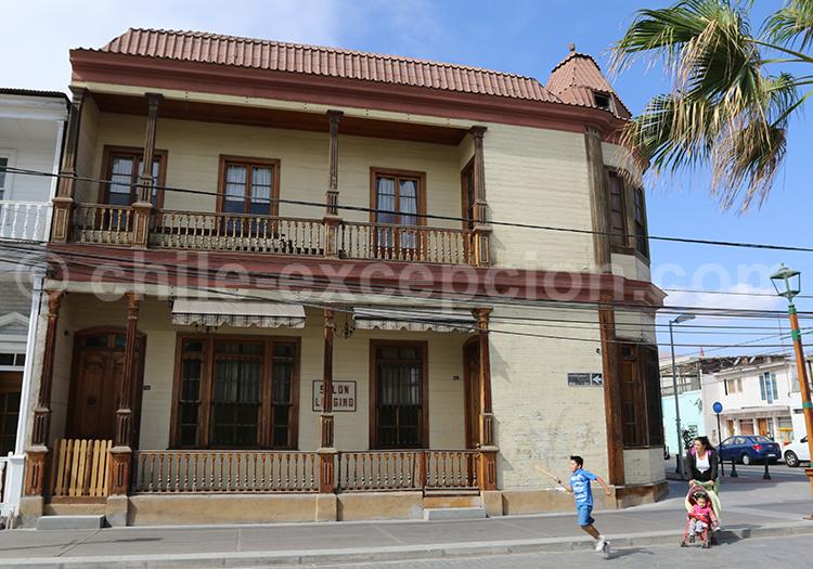 Maison coloniale, Nord du Chili, Iquique