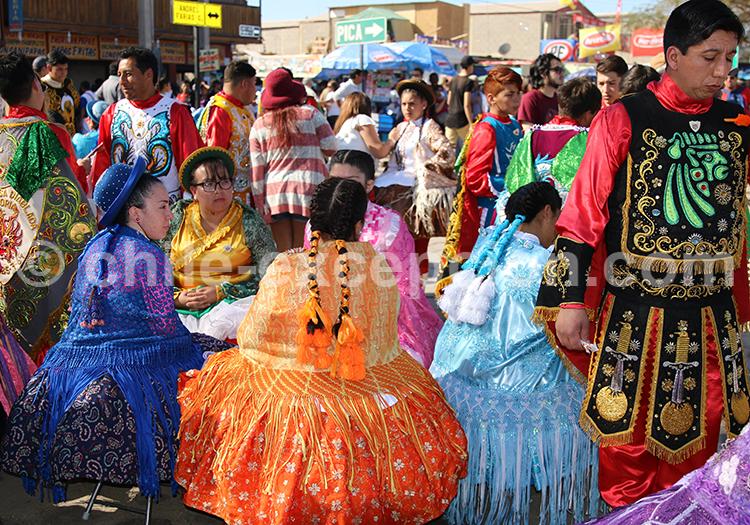 Réunion folklorique à Iquique