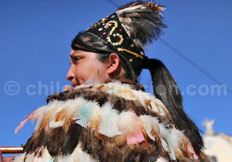 Costume ethnique des Andes