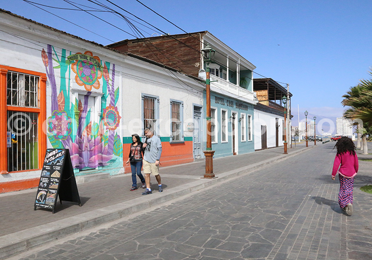 Escapade à Iquique, Chili