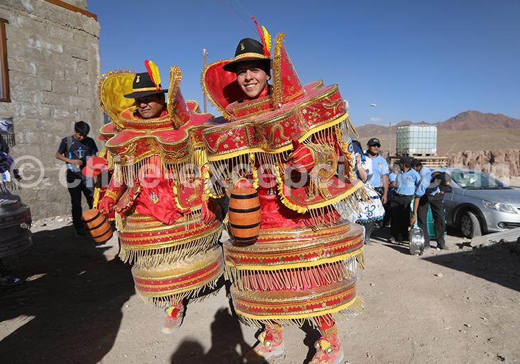 Déguisement atypique, culture du Chili