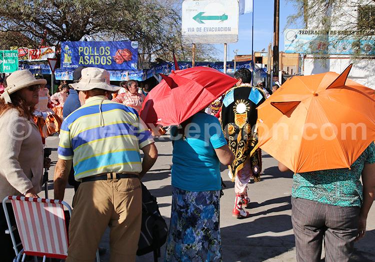 Public, fête à Iquique, Chili