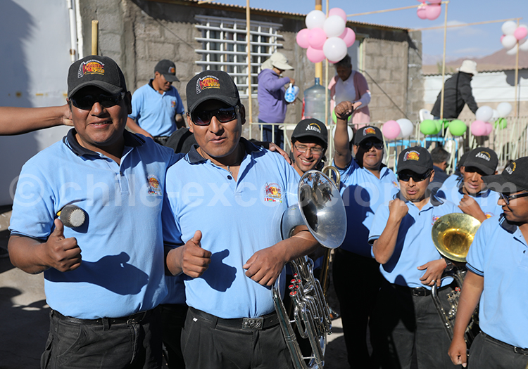 Orchestre, Nord du Chili