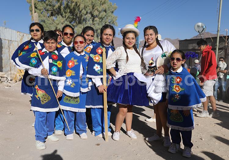 Troupe de costumes religieux, Iquique