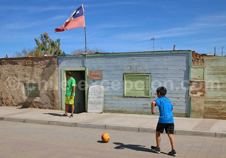 Scènes de rue animée, Nord du Chili