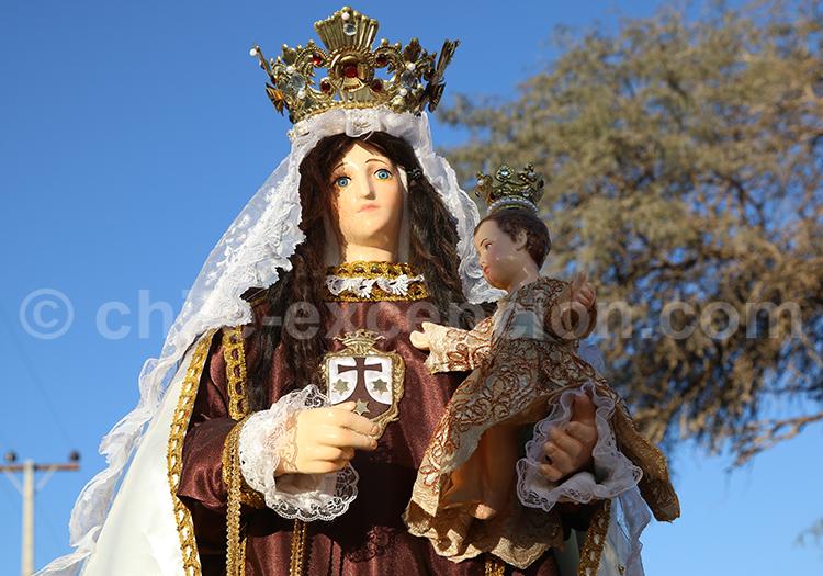 Vierge de la Tirana, Chili