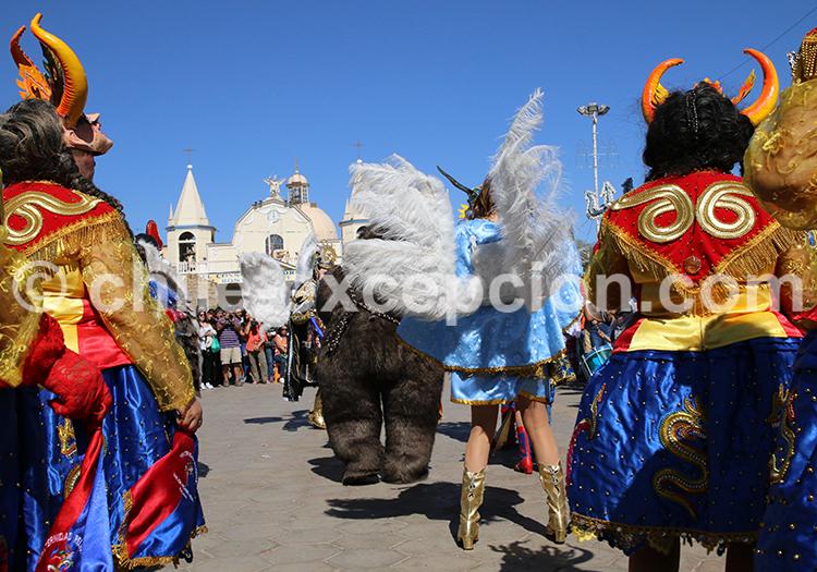 Festival populaire à Iquique