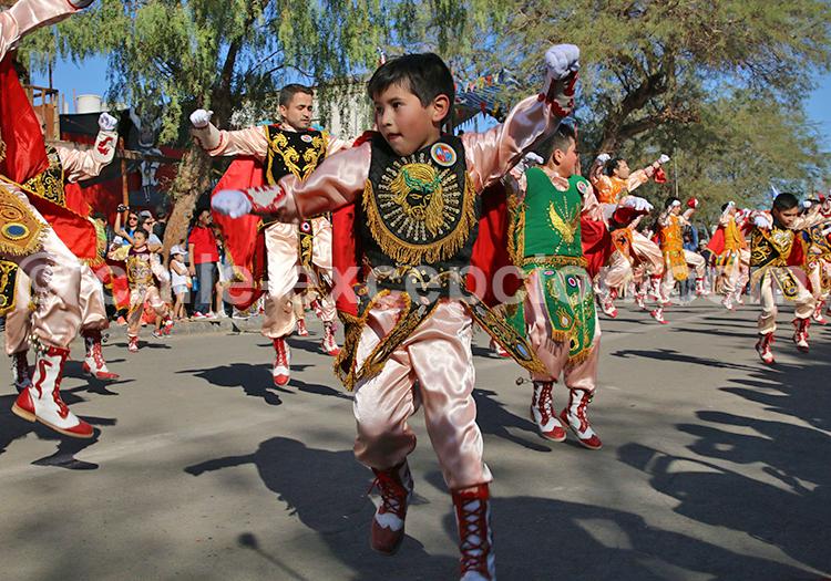 Costume de colonisateur, Fiesta de la Tirana