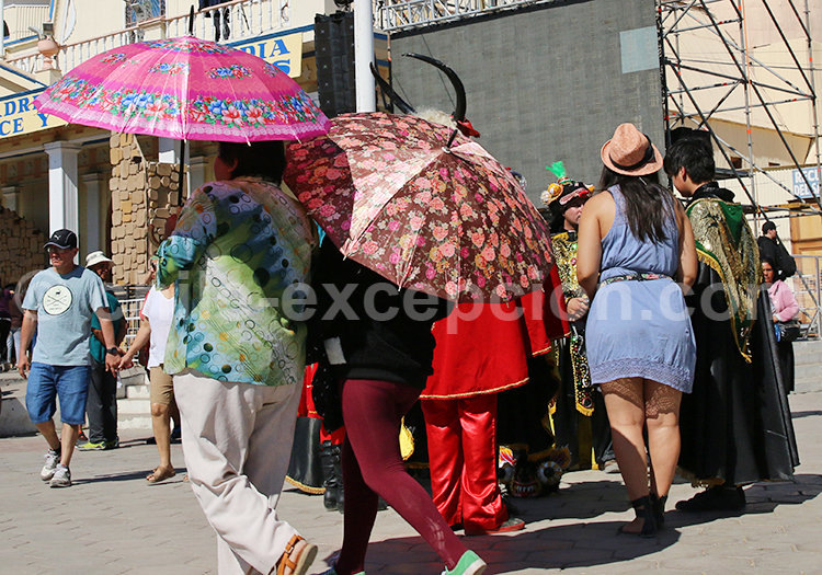 Marche, fête à Iquique