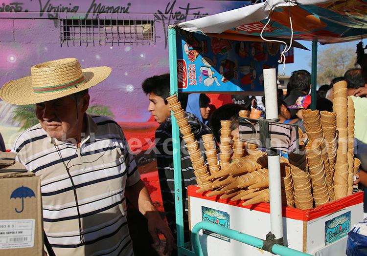 Stand de glaces, Iquique