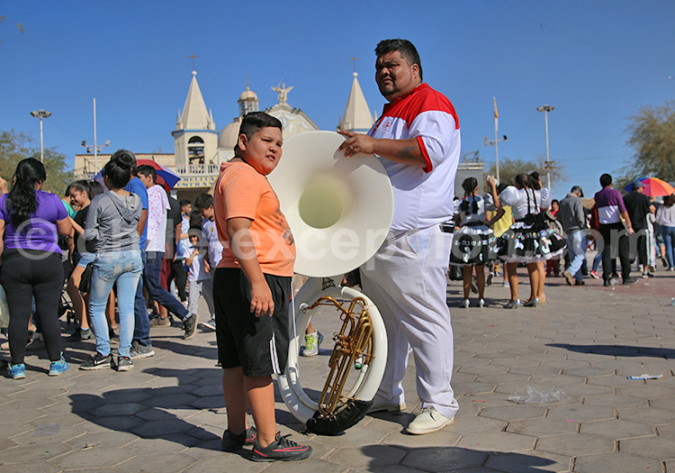 Musicien, Iquique, Nord du Chili
