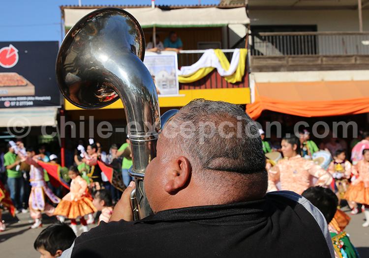 Fanfare, villes du Nord du Chili