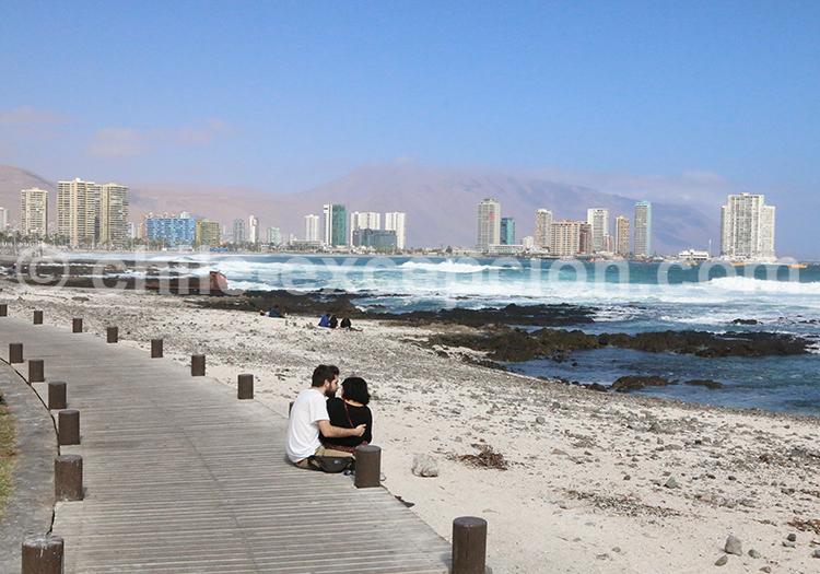 Vacances à Iquique, Nord du Chili