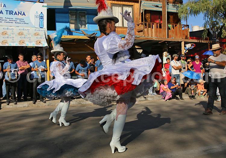 Tenue traditionnelle andine, Fiesta de la Tirana