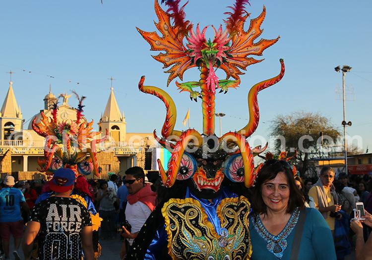 Voyage culturel, Fête de la Tirana, Nord du Chili