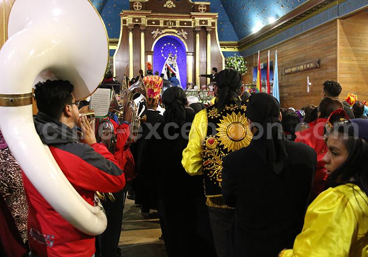 Messe de la Fiesta de la Tirana, Nord du Chili