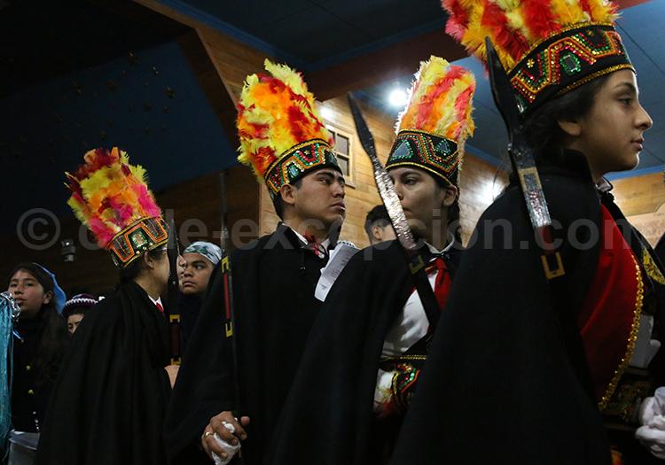 Procession durant la Fiesta de la Tirana