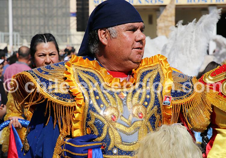 Tenue traditionnelle, Iquique, Nord du Chili