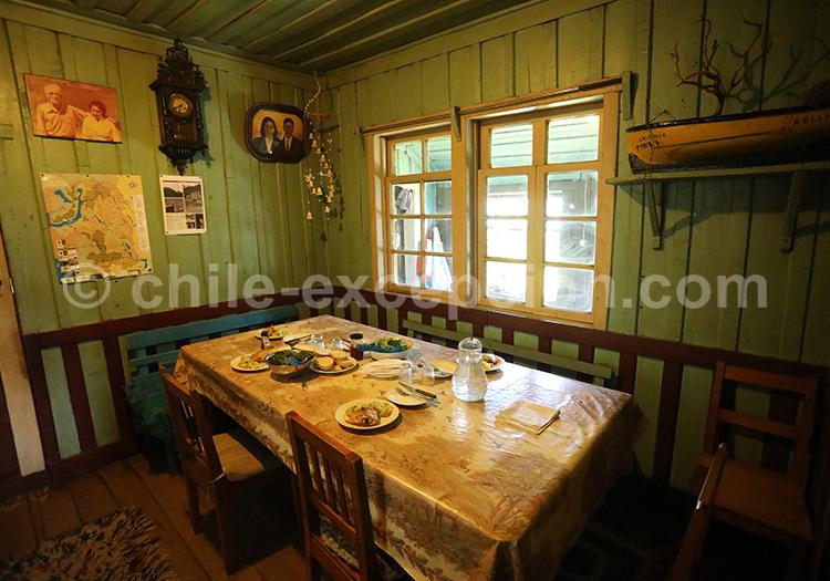 Vivre dans une maison du Sud du Chili