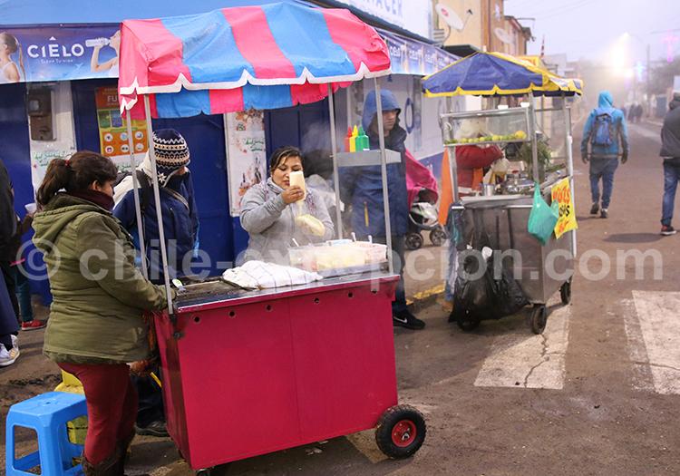Stand de nourriture, Iquique