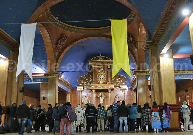 Notre-Dame du Carmen de la Tirana, village la Tirana