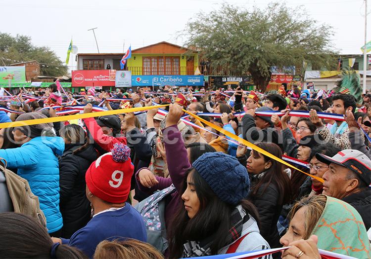 Unicité des peuples des Andes, Fiesta de la Tirana