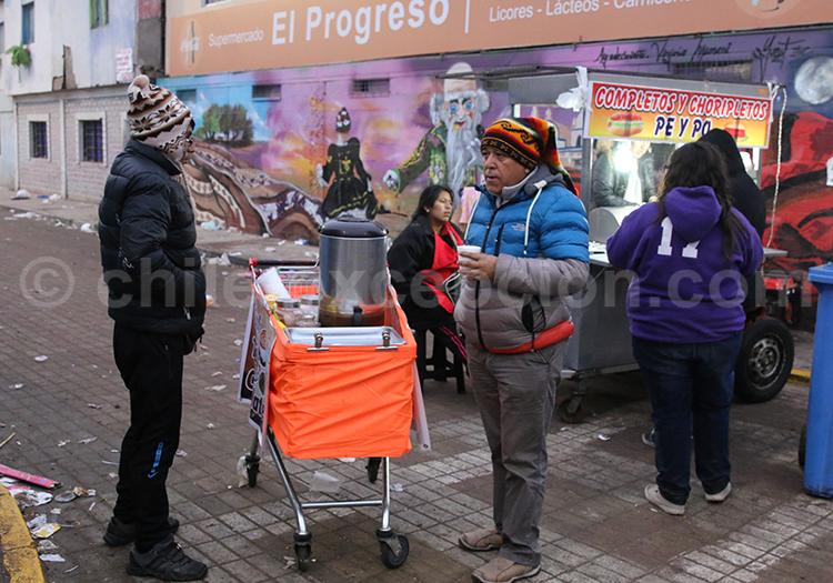 Cuisine de rue, Iquique, Chili