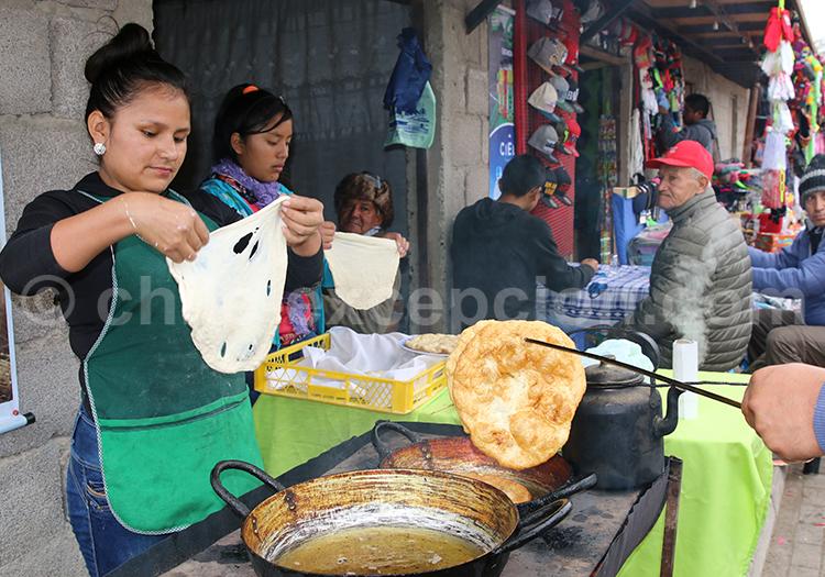 Stand de sopaipilla, Nord du Chili