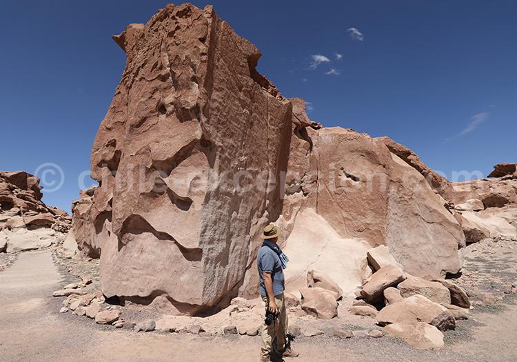 Paysages du désert chilien