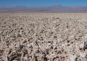 Désert de sel, Chili
