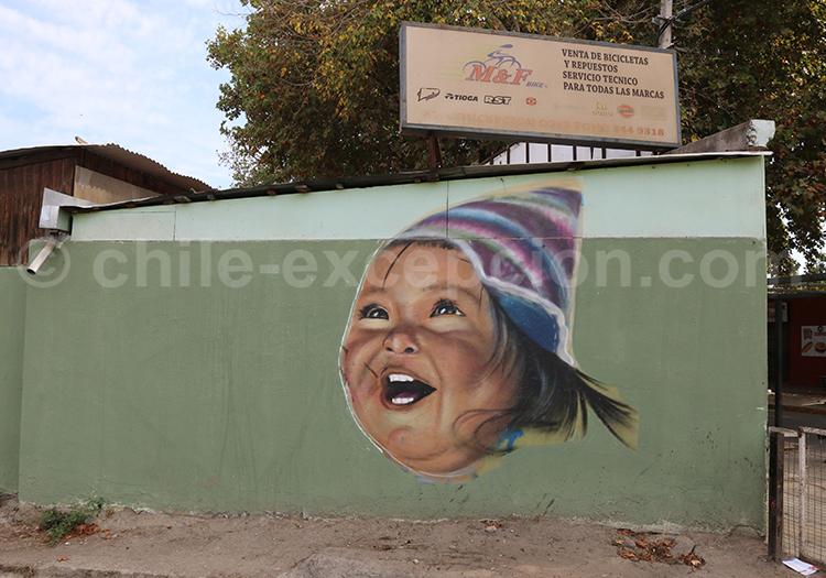 Art de rue andin, Iquique