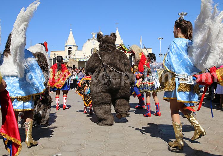 Costumes de danses, Fiesta de la Tirana
