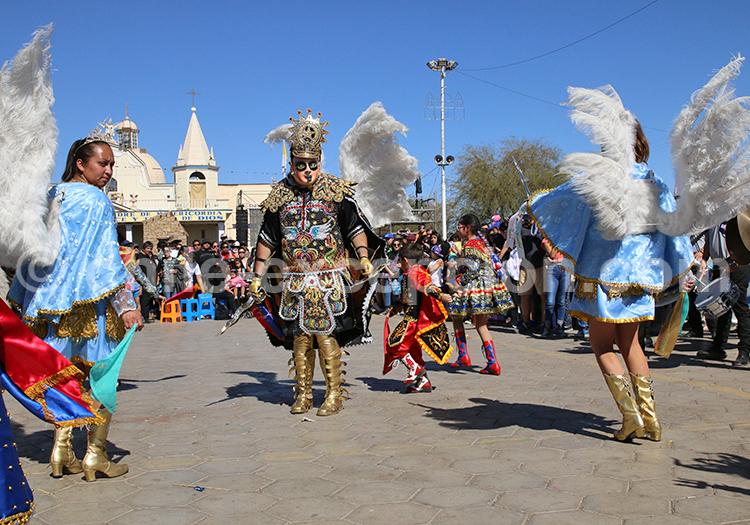 Fiesta de la Tirana, Nord du Chili