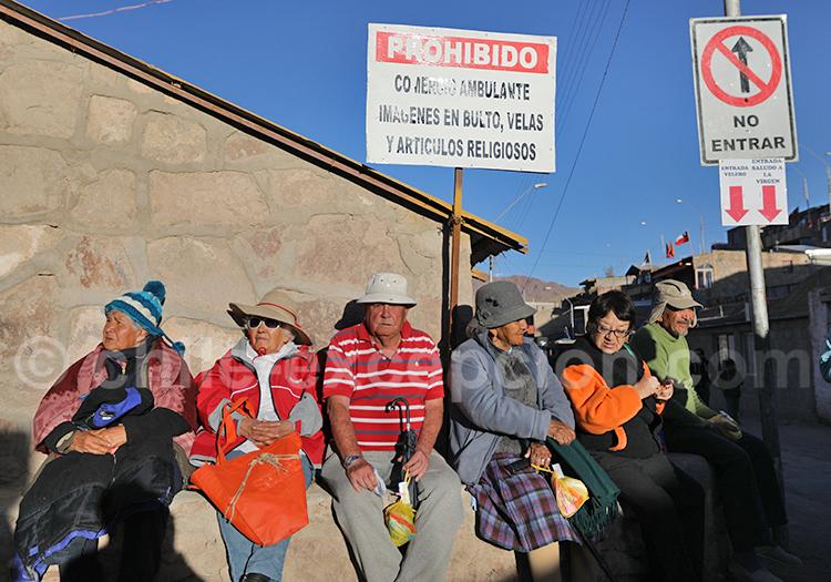 Les habitants du Nord du Chili