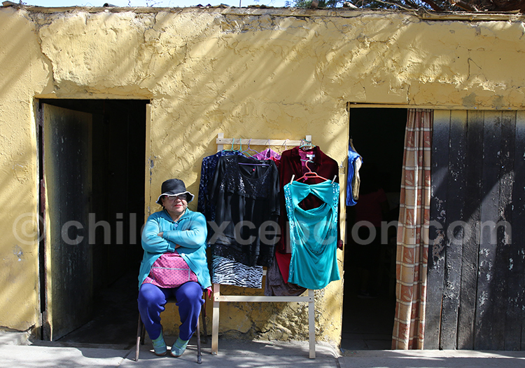 Commerce, village du Chili