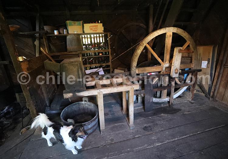Atelier traditionnel, Patagonie des lacs
