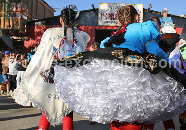 Danseuses andines, la Tirana