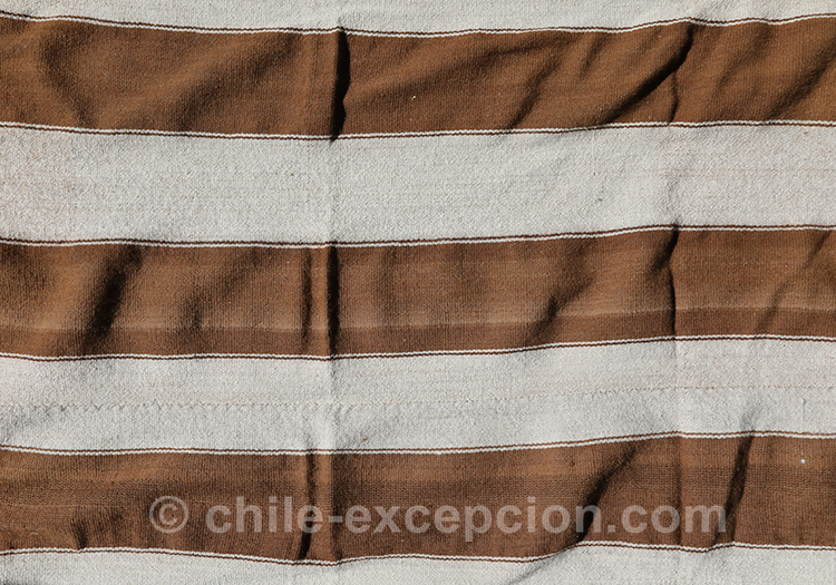 Tissu à bandes du Chili avec l'agence de voyage Chile Excepción