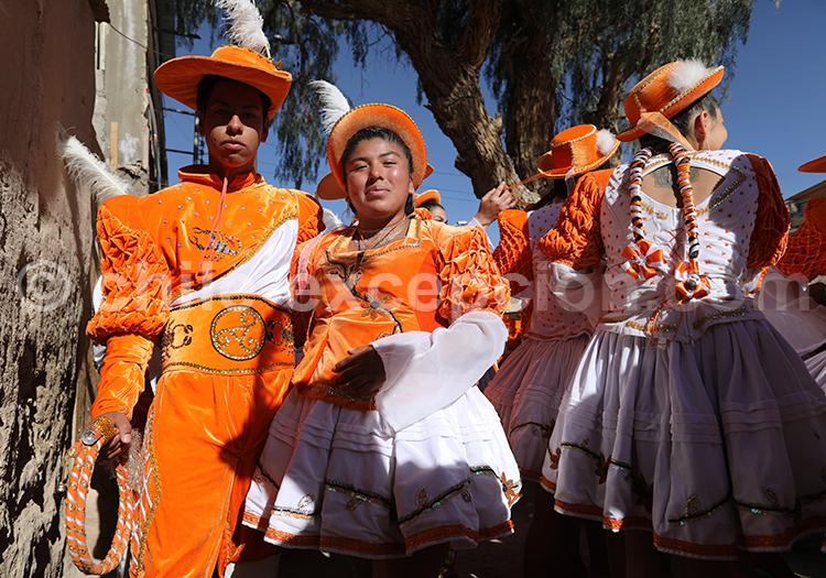 Représentation musicale, fiesta de la Tirana, Iquique