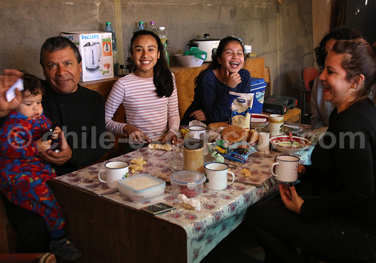 Repas au Chili, Iquique