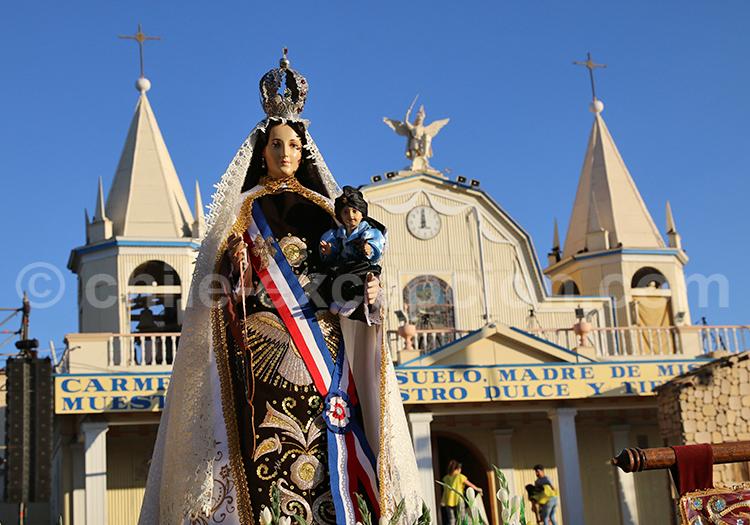Vierge de la Tirana, région de Tarapacá
