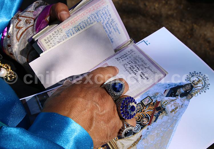 Fête religieuse des Andes, région de Tarapacá