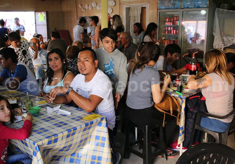 Restaurants locaux, Iquique