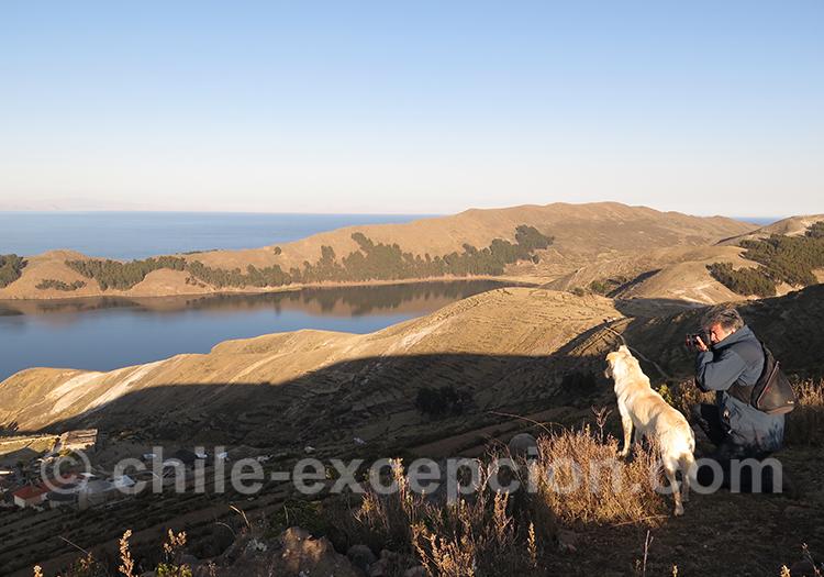 Magnifique point de vue au Chili
