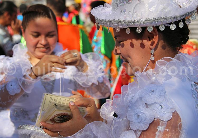 Célébration culturelle à Iquique, Nord du Chili