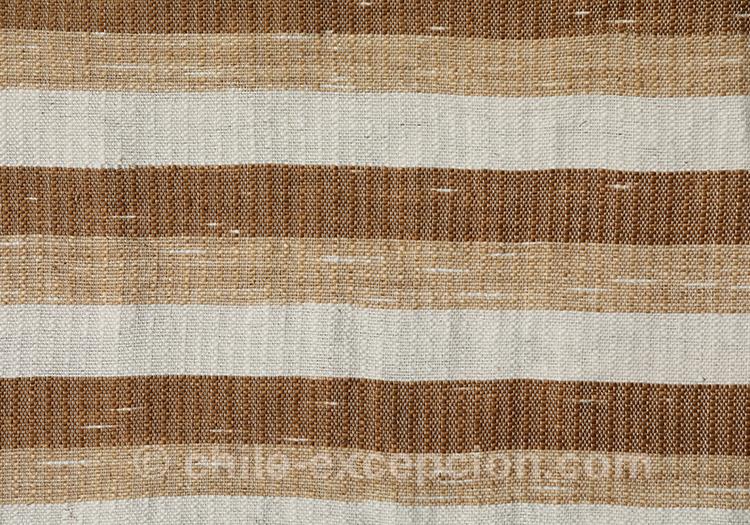Tissu à motifs rayés au Chili avec l'agence de voyage Chile Excepción