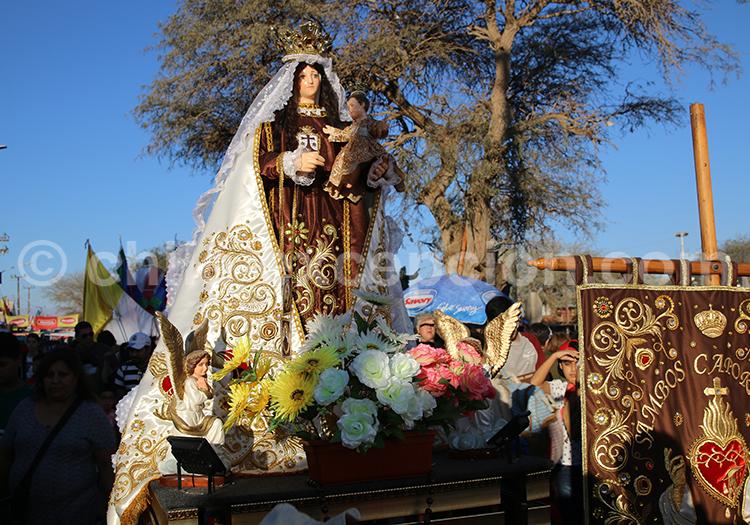 Figures religieuses, événements du Nord du Chili