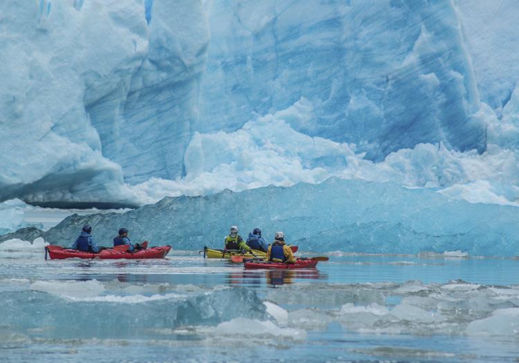 Excursion en kayak, lac Grey