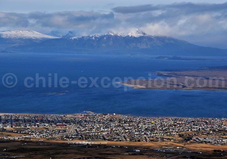 Vue sur Puerto Natales