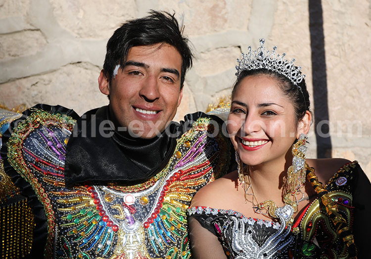 Portrait d'un couple chilien, Nord du Chili